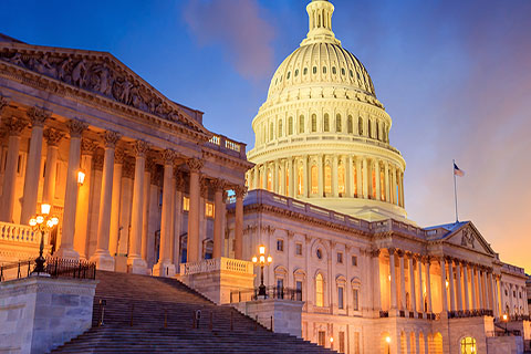 This is a stock photo. The United States Capitol Building in Washington D.C.